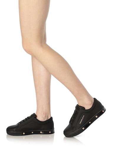 Versace Jeans Nubuk bőr hatású sneaker női