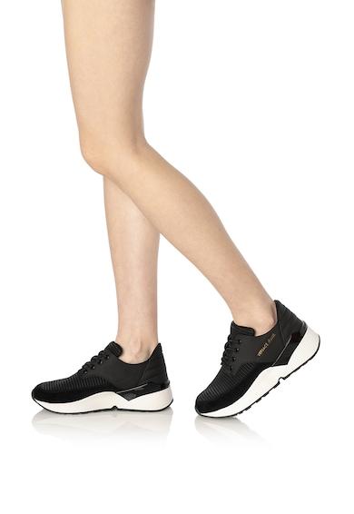 Versace Jeans Telitalpú sneaker nyersbőr betétekkel női