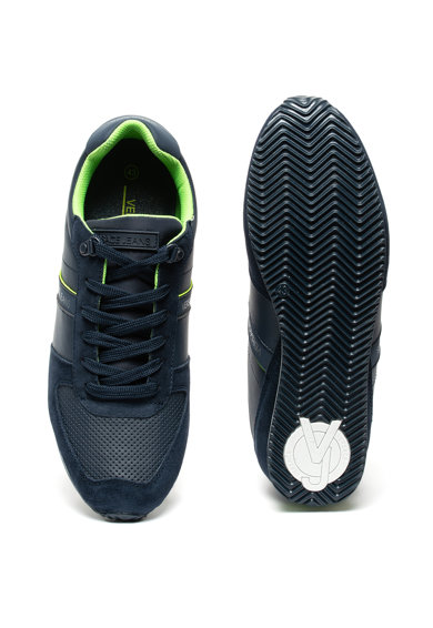 Versace Jeans Pantofi sport cu insertii de piele intoarsa Femei