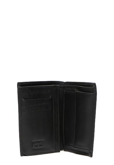 Levi's Кожен портфейл с двойно прегъване и лого Мъже