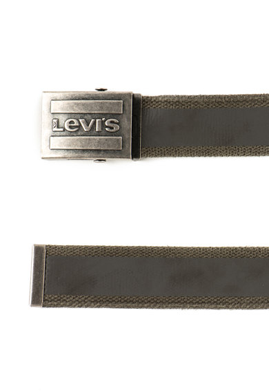 Levi's Curea texturata cu catarama tip placuta Barbati