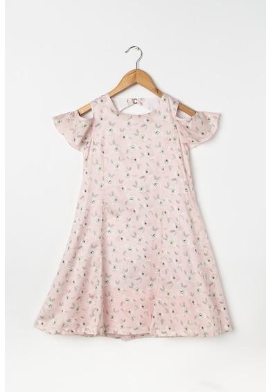 Dr. kid Флорална рокля с отвори на раменете Момичета