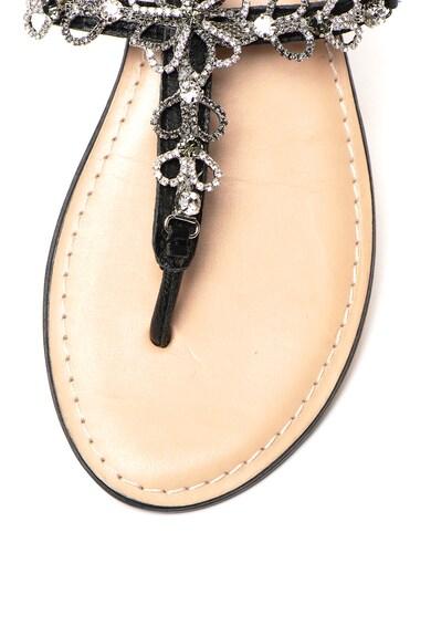 Cristin Кожени сандали Catrin с декоративни камъни Жени