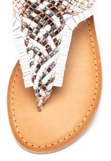 Cristin Sandale de piele cu bareta separatoare Gennifer Femei