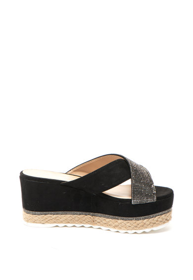 Cristin Sandale wedge slip-on Rosamunda Femei