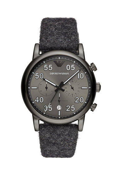 Emporio Armani Часовник Luigi с хронограф Мъже