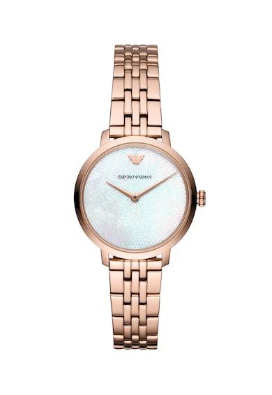 Emporio Armani Ceas quartz cu logo pe cadran Slim Femei