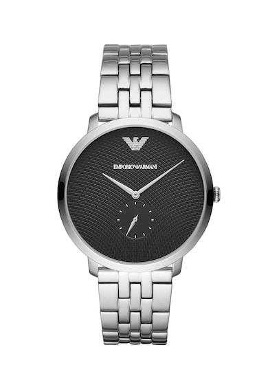 Emporio Armani Часовник Slim с релефен циферблат Мъже