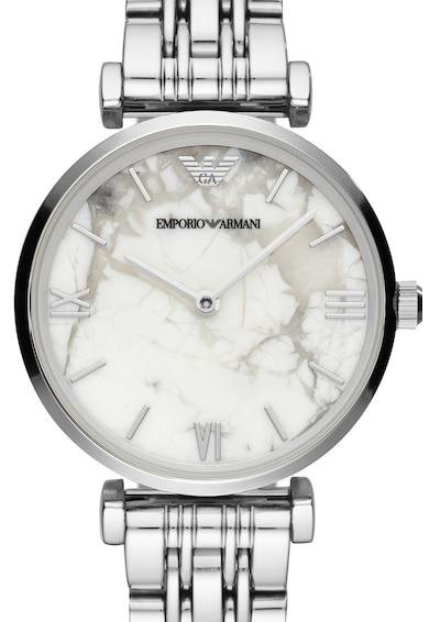 Emporio Armani Часовник с мраморен ефект на циферблата Жени