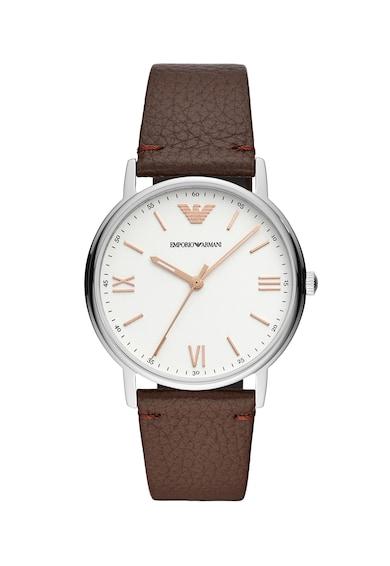 Emporio Armani Часовник с кожена каишка Мъже
