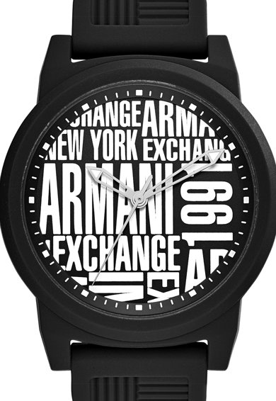 ARMANI EXCHANGE Часовник с три стрелки и контрастно лого Мъже