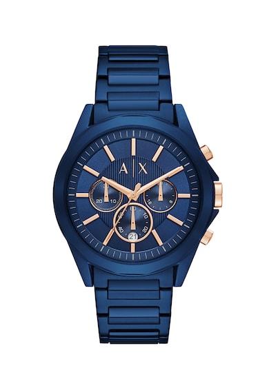 ARMANI EXCHANGE Часовник Drexler с хронометър и метална верижка Мъже