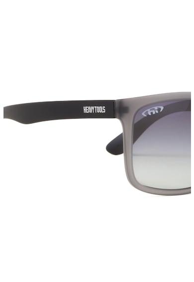 Heavy Tools Ochelari de soare unisex cu lentile polarizate, rama patrata si aspect mat Femei
