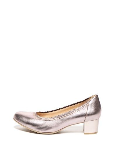 Caprice Pantofi de piele cu toc masiv Femei