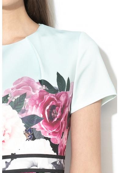 Ted Baker Rochie midi evazata cu imprimeu florala Wilmana Femei