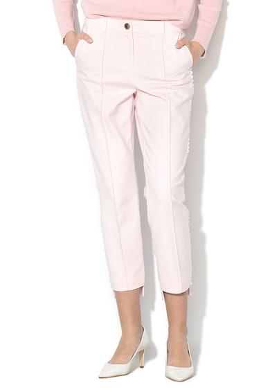 Ted Baker Панталон Onetta със скосени крачоли и асиметричен подгъв Жени