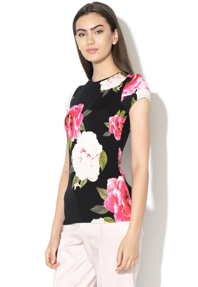 Ted Baker Tricou cu model floral Alanyo Femei
