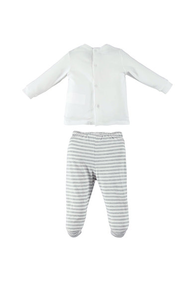iDO Kids Set de bluza cu model in dungi si pantaloni Fete