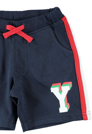 iDO Kids Pantaloni sport scurti cu talie elastica Baieti