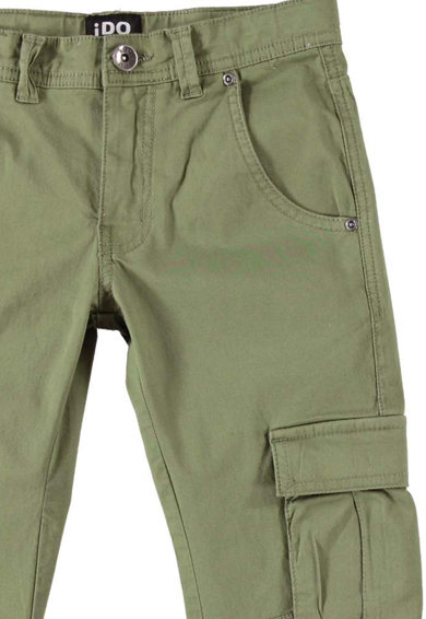 iDO Kids Pantaloni cargo cu accesoriu cu lant Baieti