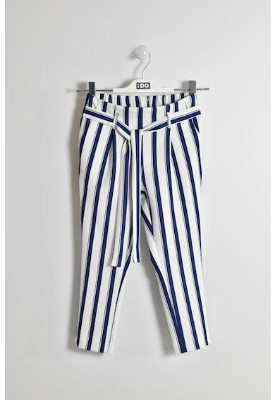 iDO Kids Pantaloni cu model in dungi Fete