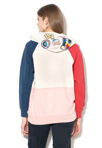 Napapijri Belix logómintás kapucnis pulóver női