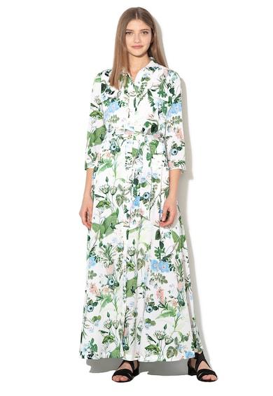 Banana Republic Rochie tip camasa evazata cu model floral Femei