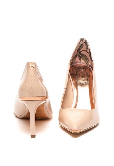Ted Baker Pantofi de piele lacuita cu varf ascutit Eriinl Femei