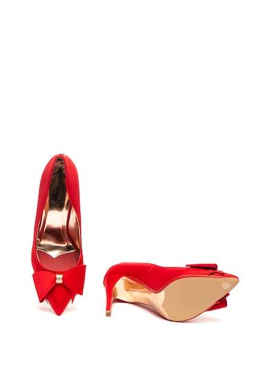 Ted Baker Сатенени обувки Arayi с ток стилето и панделка Жени