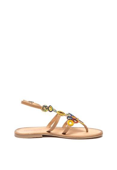 Les Tropeziennes Sandale cu margele si bareta in T Ofelie Femei