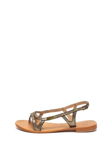 Les Tropeziennes Sandale de piele Isatis Femei