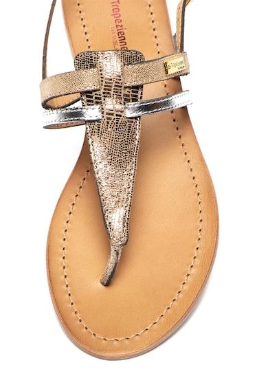 Les Tropeziennes Sandale de piele cu bareta separatoare Baraka Femei