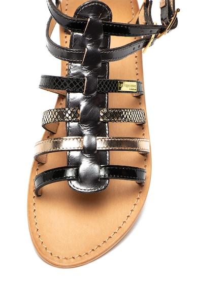 Les Tropeziennes Sandale de piele cu barete Baille Femei