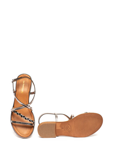 Les Tropeziennes Sandale de piele cu barete multiple Haley Femei