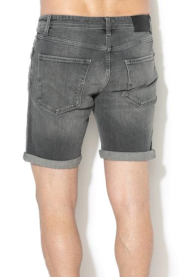 Selected Homme Pantaloni scurti de denim cu terminatii pliabile Alex 1 Barbati
