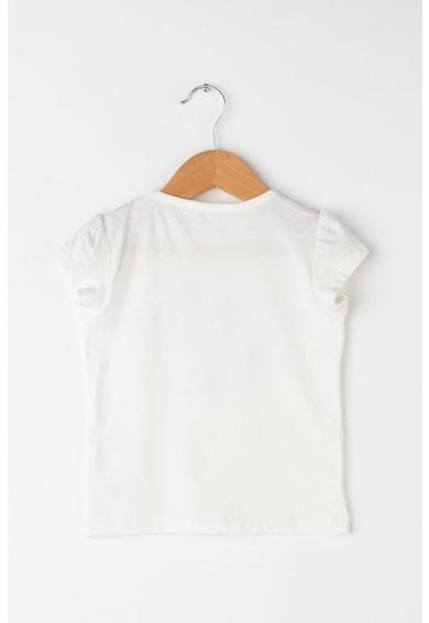 NAME IT Set de tricou si pantaloni scurti, cu detalii brodate Zatchile Fete