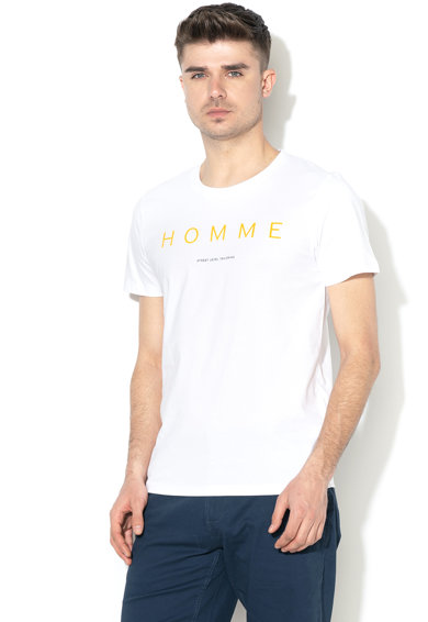 Selected Homme Tricou cu imprimeu text Barbati