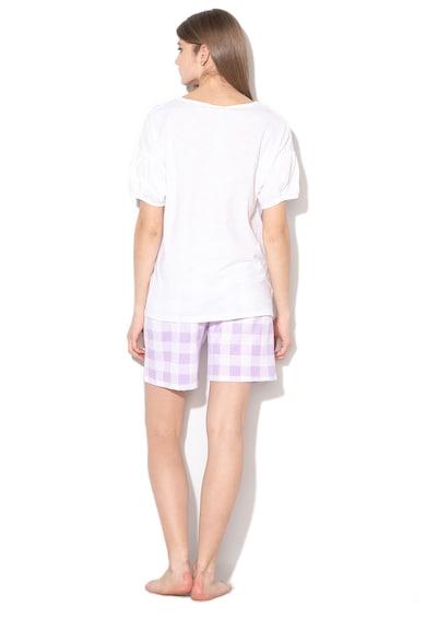 Undercolors of Benetton Pijama cu pantaloni scurti si insertii stralucitoare Femei