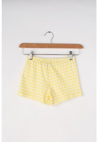 Undercolors of Benetton Top si pantaloni scurti de pijama, cu imprimeu Doll Fete