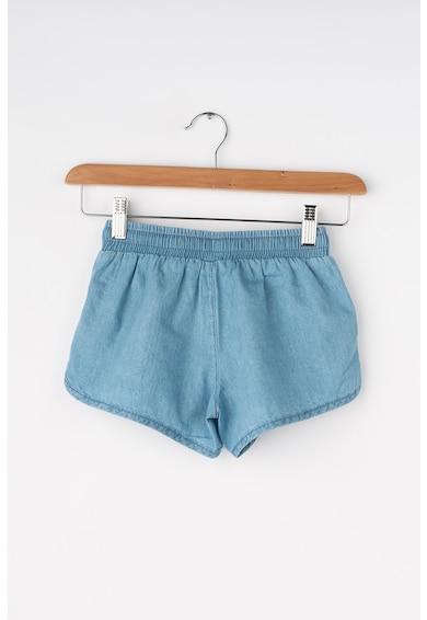 United Colors of Benetton Pantaloni scurti din chambray cu snur pentru ajustare Fete
