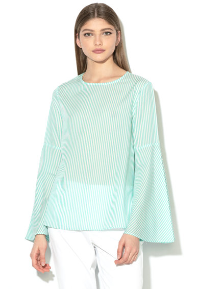 United Colors of Benetton Bluza in dungi din lyocell Femei