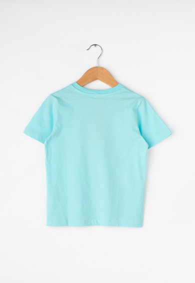 United Colors of Benetton Tricou cu imprimeu grafic si text Fete