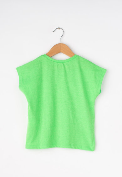 United Colors of Benetton Tricou cu broderie grafica Fete