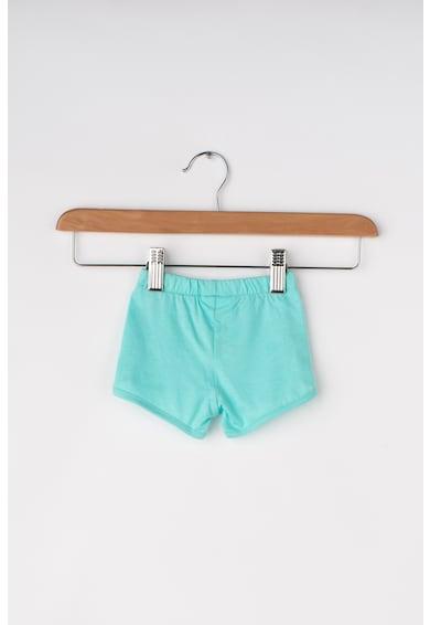 United Colors of Benetton Set de pantaloni si tricou cu aplicatii cu volane Fete