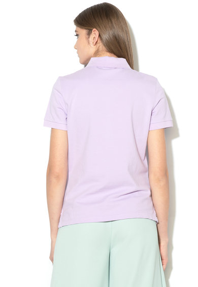 United Colors of Benetton Tricou polo cu broderie logo Femei