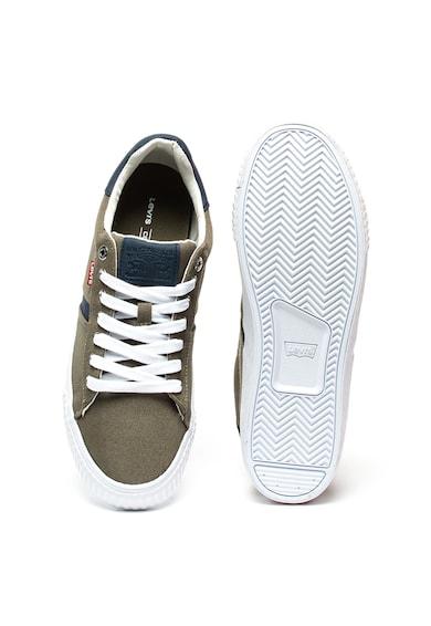 Levi's Pantofi sport cu insertii de piele ecologica Skinner Barbati