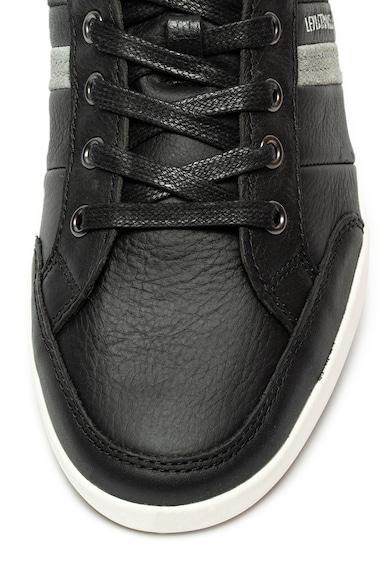 Levi's Pantofi sport de piele si piele intoarsa cu ComfortTech Turlock Barbati