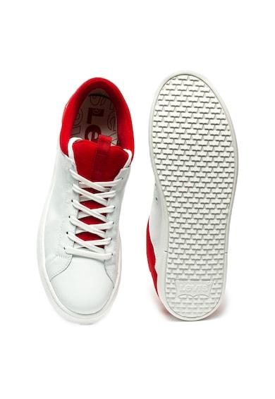 Levi's Pantofi sport de piele si material textil Mullet Barbati