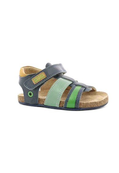 Mod8 kids Sandale de piele cu velcro Kortou Fete