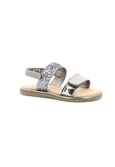 Mod8 kids Sandale de piele ecologica, cu velcro Paillette Fete